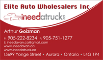 Auto Wholesalers Business Cards