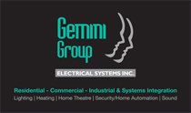 Gemini Group Electrical Systems Business Cards
