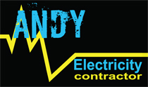 Electricity Contractor Business Cards