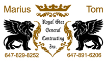 General Contracting Business Cards
