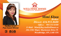Mimi Khuu Broker Business Cards
