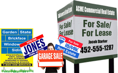 Real Estate Full Colour Coroplast Sign