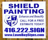 Painting Yard Sign